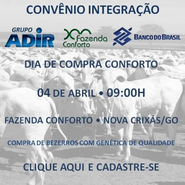 Convênio Integração Adir Conforto Banco do Brasil